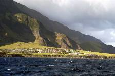 the village of Edinburgh on Tristan da Cunha island